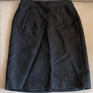 Jcrew wool skirt A-line 00P